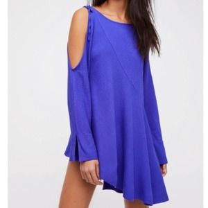 FREE PEOPLE Clear Skies Cold Shoulder Tunic NWT XS